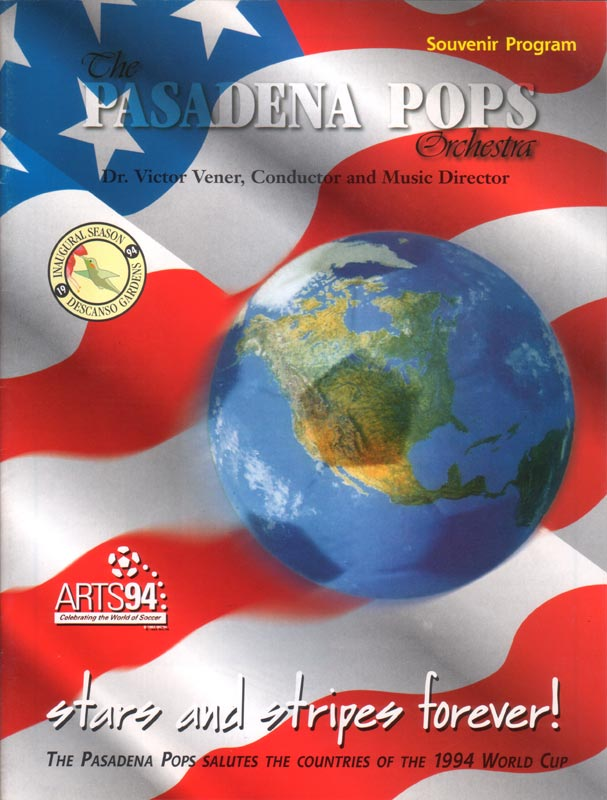 Pasadena Pops program cover
